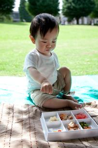 ピクニックの写真素材 [FYI00102399]