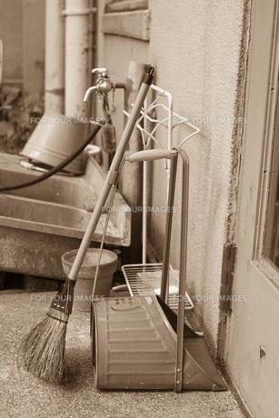 掃除用具の写真素材 [FYI00102630]