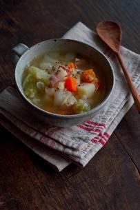 野菜スープの写真素材 [FYI00102712]