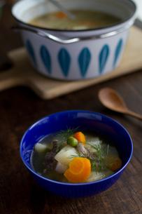 野菜のスープの写真素材 [FYI00102783]