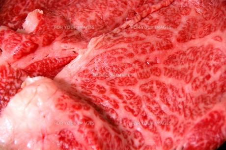 生の肉の写真素材 [FYI00102950]