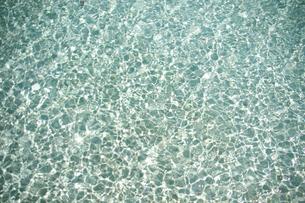 南の島の海面のテクスチャの写真素材 [FYI00103027]