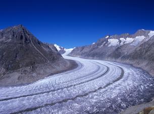 青空と氷河の素材 [FYI00103180]