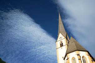 青空と教会の素材 [FYI00103270]