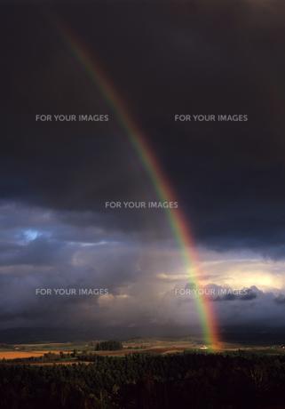 大地と虹の素材 [FYI00103432]