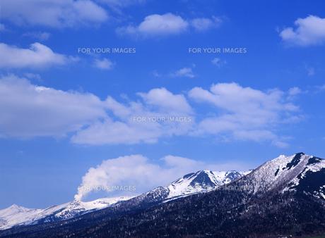 連山と空の素材 [FYI00103572]