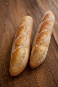 自家製のフランスパンの写真素材 [FYI00103737]