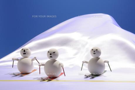 スキー大会の素材 [FYI00103843]
