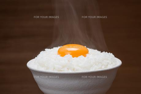 温か卵かけご飯の素材 [FYI00105372]