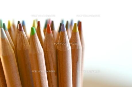 色鉛筆の写真素材 [FYI00105464]