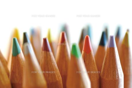 色鉛筆の芯の写真素材 [FYI00105477]