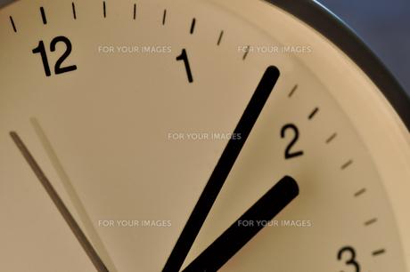 時計のクローズアップの写真素材 [FYI00105506]