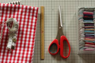 裁縫道具_1の写真素材 [FYI00105631]