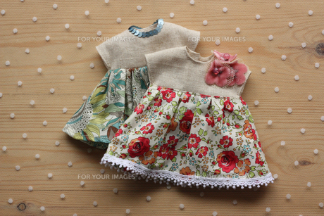 人形の洋服_4の写真素材 [FYI00105638]