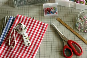 裁縫道具_2の写真素材 [FYI00105651]