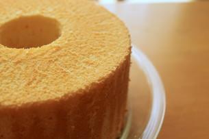 シフォンケーキの写真素材 [FYI00105673]