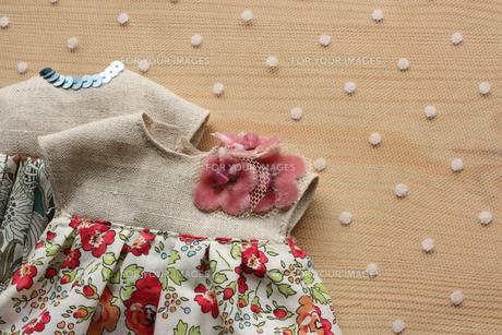人形の洋服_2の写真素材 [FYI00105675]