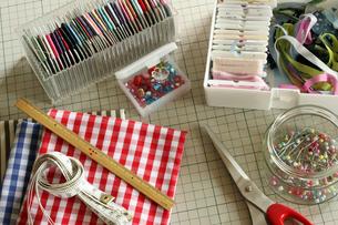 裁縫道具_3の写真素材 [FYI00105676]