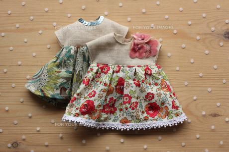人形の洋服_3の写真素材 [FYI00105679]