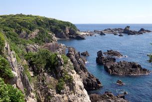 岩礁の写真素材 [FYI00105797]