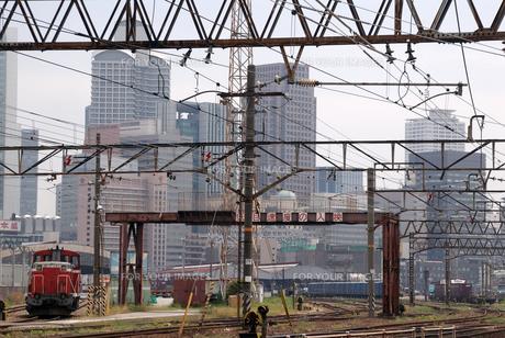 大阪駅貨物ヤードの写真素材 [FYI00105831]