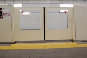 地下鉄安全柵の写真素材 [FYI00105851]