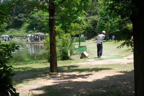 パターゴルフの写真素材 [FYI00105916]