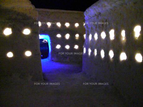 雪の回廊の写真素材 [FYI00106008]