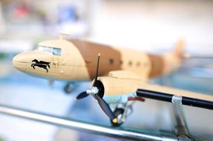 戦闘機の模型の写真素材 [FYI00106694]