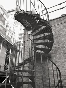 ロンドンの螺旋階段の写真素材 [FYI00106695]