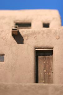 インディアンの聖地タオスプエブロの写真素材 [FYI00106732]