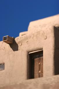 インディアンの聖地タオスプエブロの写真素材 [FYI00106754]