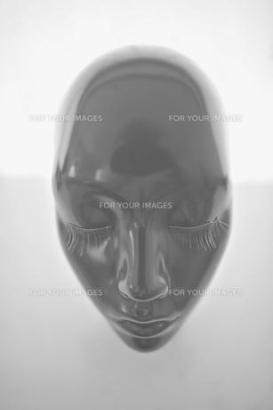 マネキンの顔の写真素材 [FYI00106773]