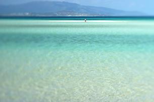 竹富島のコンドイビーチの写真素材 [FYI00106783]