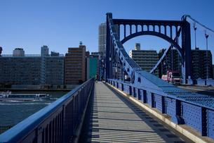 清洲橋の写真素材 [FYI00106791]