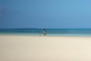 竹富島のコンドイビーチの写真素材 [FYI00106793]