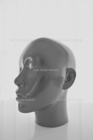 マネキンの頭部の写真素材 [FYI00106796]