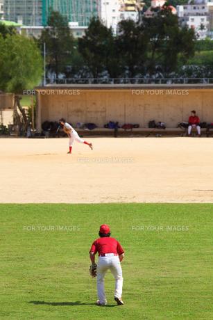草野球の写真素材 [FYI00106822]