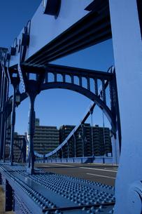 清洲橋のディティールの写真素材 [FYI00106843]