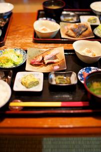 沖縄の伝統的な朝食の写真素材 [FYI00106893]