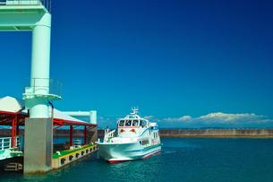 久高島の港の写真素材 [FYI00107048]