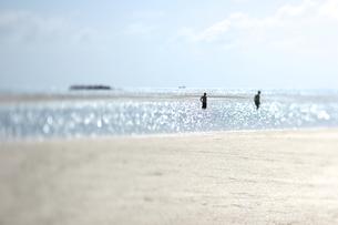 竹富島のコンドイビーチの写真素材 [FYI00107049]