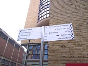 ロンドンの標識の写真素材 [FYI00107148]