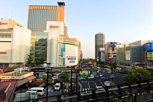 三宮駅前の風景の写真素材 [FYI00107186]