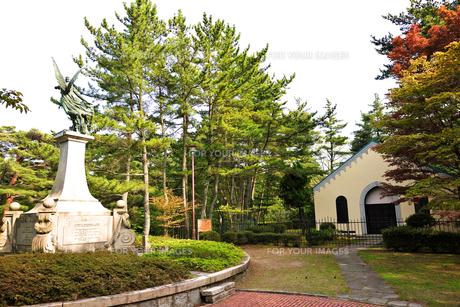 神戸外国人墓地の写真素材 [FYI00107204]