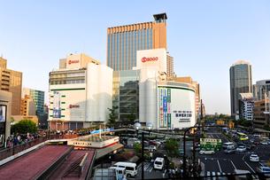 三宮駅前の風景の写真素材 [FYI00107222]