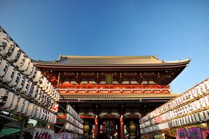 浅草寺の写真素材 [FYI00107323]