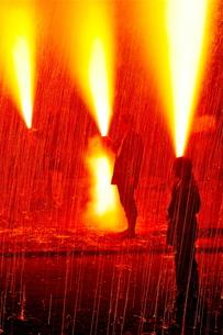 手筒花火の素材 [FYI00107606]