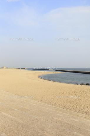 舞子ノ浜海水浴場の写真素材 [FYI00107810]