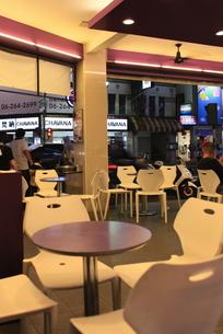 台南のオープンカフェの写真素材 [FYI00107829]